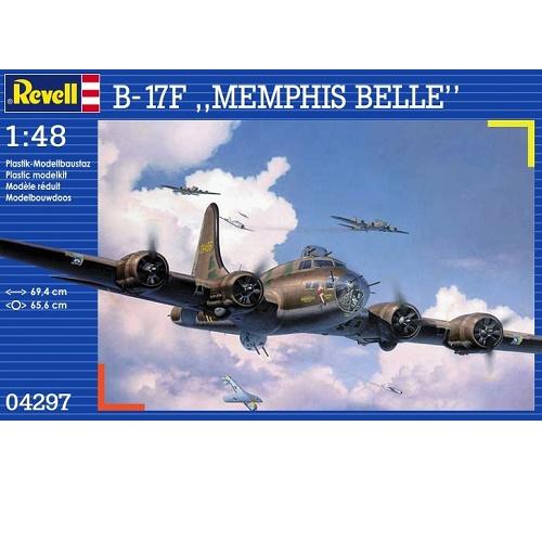 Revell 04297 - B-17F - Memphis Belle - Scale 1.48