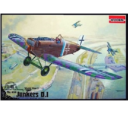 Roden 434 - JUNKERS D.I LATE  - Scale 1-48a