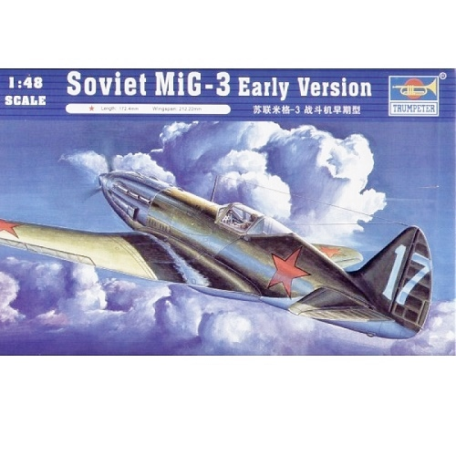 Trumpeter 02830 - SOVIET MIG-3 EARLY VERSION  -  Scale 1.48 -