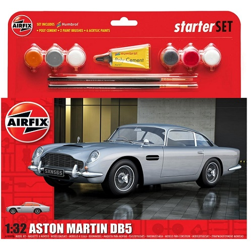 Airfix 50089 - Aston Martin DB5 - Scale 1.32