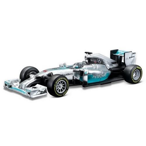 Bburago 38020 - F1 2014 Mercedes Amg Team Lewis Hamilton -