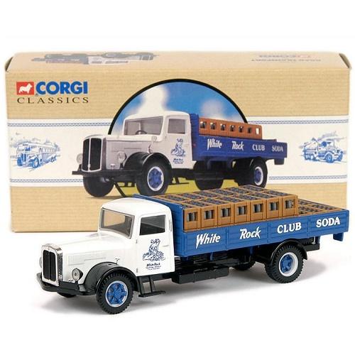 Corgi 98457 - White Soda Truck - White Rock