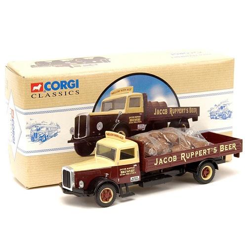 Corgi 98458 - White Brewery Truck - Jacob Rupperts