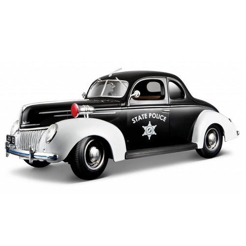 Maisto 31366K - Ford Deluxe Police - 1939