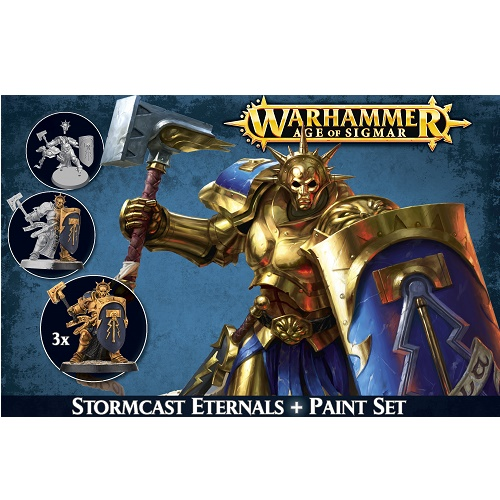 Age of Sigmar - 60-10 - Warhammer Paint Set - Stormcast Eternals
