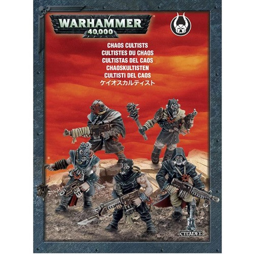 Warhammer 40K - 35-34 - Chaos Cultists