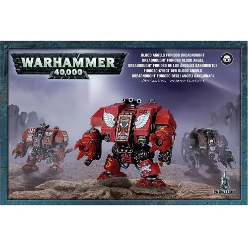 Warhammer 40K - 41-11 - Blood Angels Furioso Dreadnought