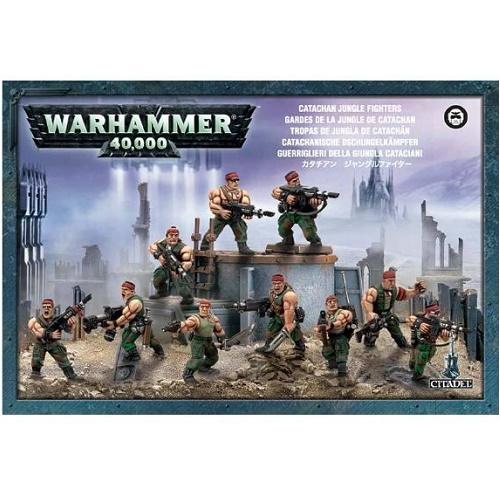 Warhammer 40K - 42-06 - Catachan Jungle Fighters