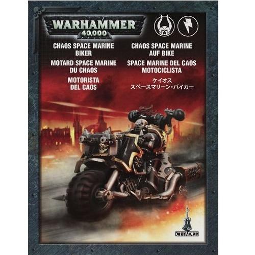Warhammer 40K - 43-08 - Chaos Space Marine Bike