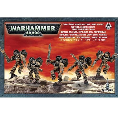 Warhammer 40K - 43-13 - Chaos Spacemarine Raptors-Warp Talon