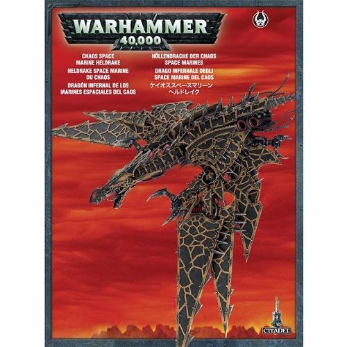 Warhammer 40K - 43-15 - Chaos Spacemarine Heldrake