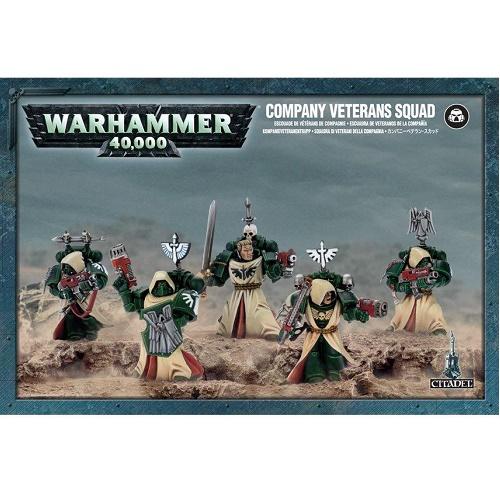 Warhammer 40K - 44-09 - Dark Angles Veteran Space Marine