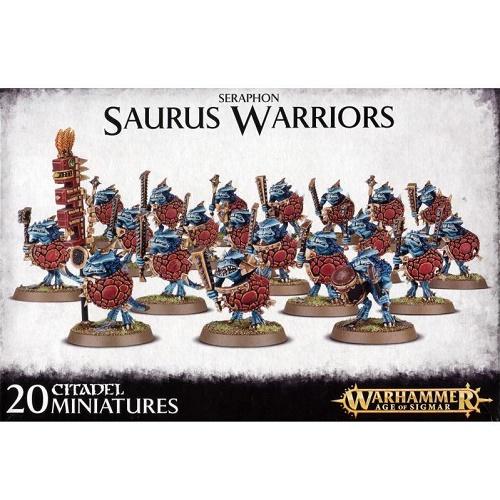 Age of Sigmar - 88-06 - Seraphon Saurus Warriors