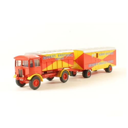 Oxford 76AEC019 - AEC Matador and Trailer - Robert Brothers