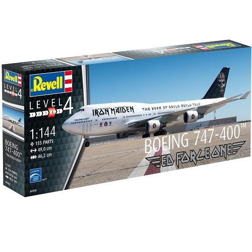 Revell 04950 - Boeing 747-400 - Iron Maiden - 1.144