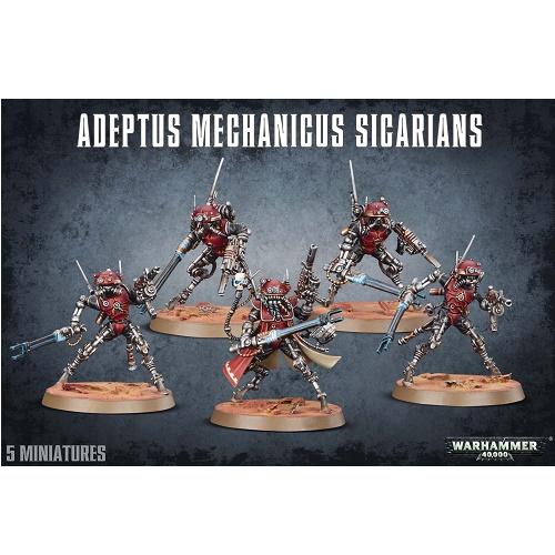 Warhammer 40K - 59-11 - Adeptus Mechanicus Sicarians