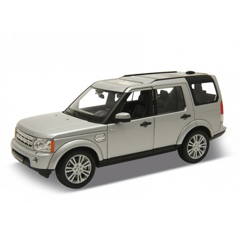 Welly 24008S - Land Rover Discovery 4 - Silver - 1.24