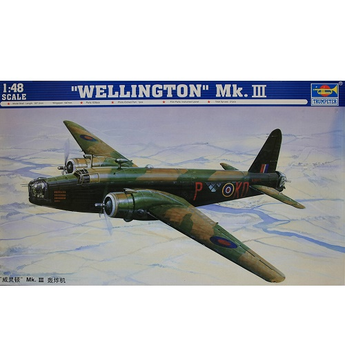 trumpeter-02823-vickers-wellington-mk-111-scale-1-48
