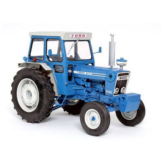 Tractor Data Ford 7600 : Universal hobbies ford with cab rb modelsrb models