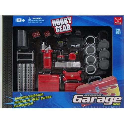 Hobby Gear 18420 - Garage Repair Kit - Scale 1.24