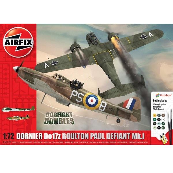 Aifix 50170 - Dornier Do17z and Boulton-Paul Defiant Mk 1
