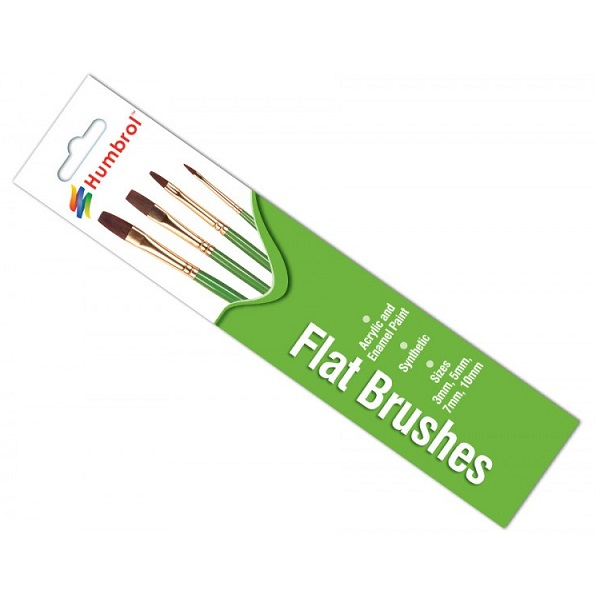 Humbrol 4302 -Brush Pack - Flat Brush