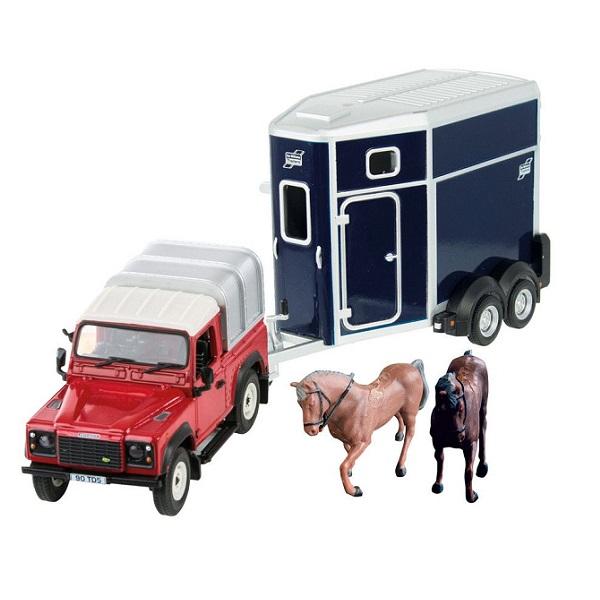 Britains Land Rover Horse Set