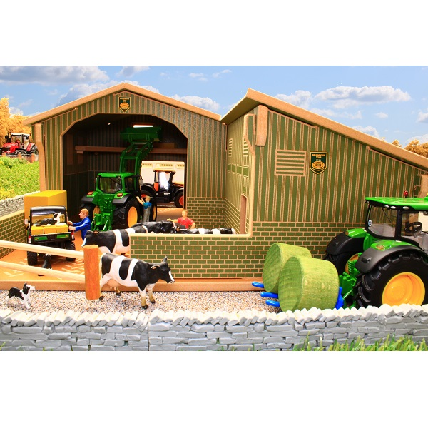 Wooden Toy Model Barn with Hayloft  1//12th scale